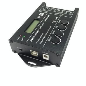 TC421 20A WiFi Programmeerbare 5CH RGB LED Time Controller voor Aquarium  Aquarium  Plant Growth  DC 12-24V