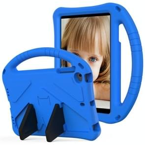 Voor iPad Mini5/4/3/2/1 EVA Flat Anti Falling Protective Case Shell met Holder(Blue)