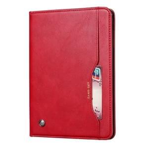 Knead huidtextuur horizontaal Flip lederen case voor Galaxy tab S5e 10 5 T720/T725  met foto frame & houder & kaartsleuven & portemonnee (rood)