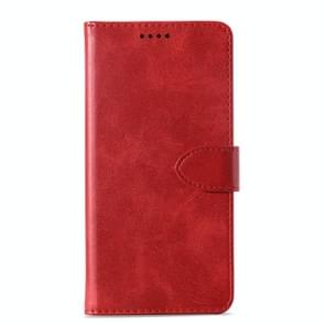 Calf Texture Horizontal Flip Leather Case for Huawei nova 4, with Holder & Card Slots & Wallet(Red)
