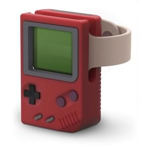 Retro Game Console Charging Stand For Apple Watch(Red)