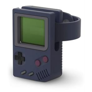 Retro Game Console Charging Stand For Apple Watch(Blue)