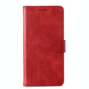 Calf Texture Horizontal Flip Leather Case for Lenovo A5, with Holder & Card Slots & Wallet(Red)