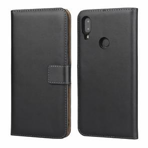 Horizontal Flip Leather Case for Xiaomi Redmi Note 7, with Magnetic Buckle & Holder & Card Slots & Wallet(Black)