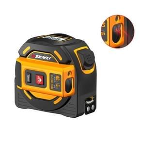SNDWAY Digital Range Finder Laser Distance Meter Tape Multi-function Self-Locking Hand Tool Device SW-TM40