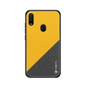 PINWUYO Honors Series Shockproof PC + TPU Protective Case for ASUS Zenfone Max Pro (M1) / ZB601KL / ZB602KL(Yellow)