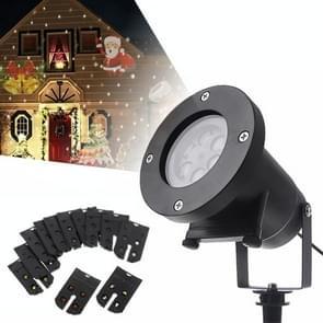 YouOKLight 4W 12 kaart Kerstverlichting decoratie LED sneeuwvlok projectie lamp