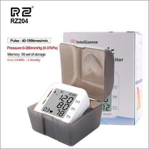 RZ204 Automatic Digital Wrist Cuff Blood Pressure Monitor Heart Beat Light weight LCD Digital Wrist Watch With Voice
