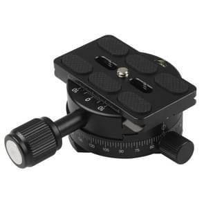 X-64 professionele camera statief monopod panoramisch panorama hoofd met Quick release plaat