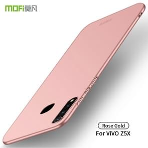 MOFI Frosted PC Ultra-thin Hard Case for VIVO Z5X(Rose gold)