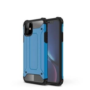 Magic Armor TPU + PC combinatie geval voor iPhone XIR 2019 (blauw)