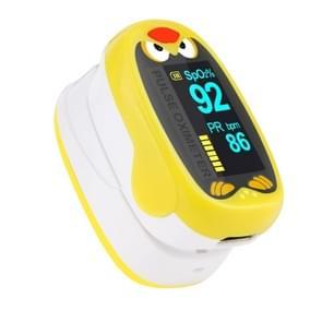 Pediatric Finger Pulse Oximeter Neonatal Blood Oxygen Children Kids Rechargeable USB Saturation Infant Oximetro Pediatrico yellow