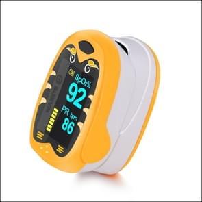 Pediatric Finger Pulse Oximeter Neonatal Blood Oxygen Children Kids Rechargeable USB Saturation Infant Oximetro Pediatrico(Orange)