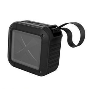 W-KING S7 mini draadloze waterdichte luidspreker met TF/FM/AUX/NFC Bluetooth fiets speaker (zwart)