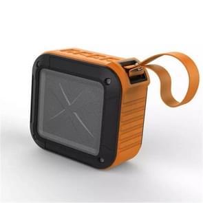 W-KING S7 mini draadloze waterdichte luidspreker met TF/FM/AUX/NFC Bluetooth fiets speaker (oranje)