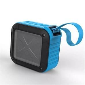 W-KING S7 mini draadloze waterdichte luidspreker met TF/FM/AUX/NFC Bluetooth fiets speaker (blauw)