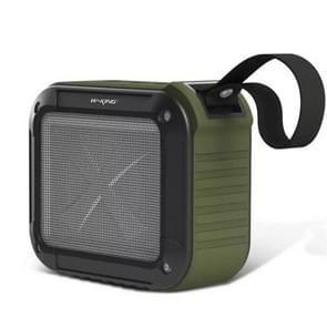 W-KING S7 mini draadloze waterdichte luidspreker met TF/FM/AUX/NFC Bluetooth fiets speaker (Army Green)