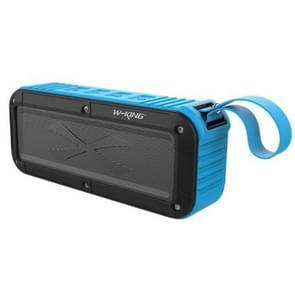 W-KING S20 Loundspeakers IPX6 waterdichte Bluetooth Speaker draagbare NFC Bluetooth Speaker voor buiten/douche/fiets FM radio (blauw)