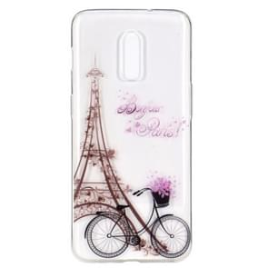 Stylish and Beautiful Pattern TPU Drop Protection Case for One Plus 7(Tower)