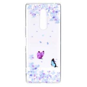 Stylish and Beautiful Pattern TPU Drop Protection Cover for One Plus 7 Pro(Flower butterfly)