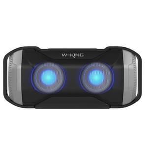 W-KING S21Outdoor Bluetooth Speaker Waterproof IPX5 draagbare draadloze fiets speaker met LED licht voor mobiele telefoons