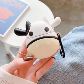 Stereo silicone koe Airpods Bluetooth headset Case voor Apple AirPods 1/2