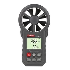 WT87A Portable Anemometer Thermometer Wind Speed Gauge Meter