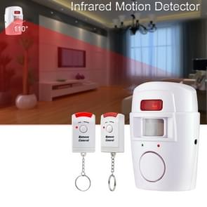 Draadloze afstandsbediening draadloze Home Security PIR alert infrarood sensor alarmsysteem Anti-Theft bewegingsmelder alarm 105DB sirene