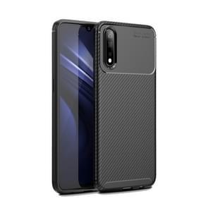 Carbon Fiber Texture Shockproof TPU Case for VIVO iQOO Neo(Black)