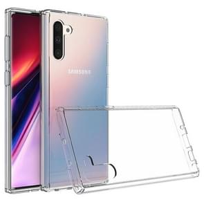 Scratchproof TPU + Acrylic Protective Case for Galaxy Note10(Transparent)