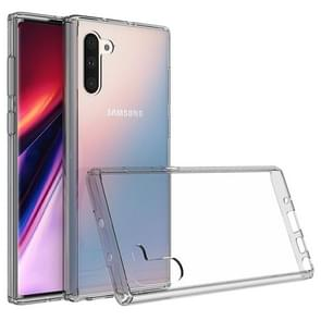 Scratchproof TPU + Acrylic Protective Case for Galaxy Note10(Grey)