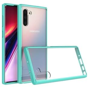 Scratchproof TPU + Acrylic Protective Case for Galaxy Note10(Green)