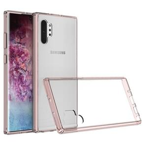 Hard Case  Scratchproof TPU + Acrylic Protective Case for Samsung Galaxy Note10+(Pink)