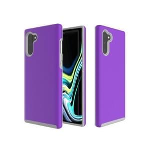 Anti-slip Armor Texture TPU + PC Case for Galaxy Note10(Purple)