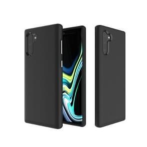 Hard case anti-slip Armor textuur TPU + PC Case voor Galaxy Note10 + (zwart)