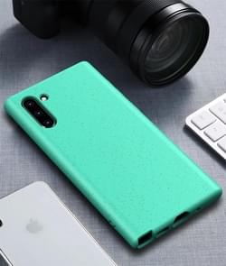 Starry Series schokbestendig stro materiaal + TPU beschermende case voor Galaxy Note 10 (groen)