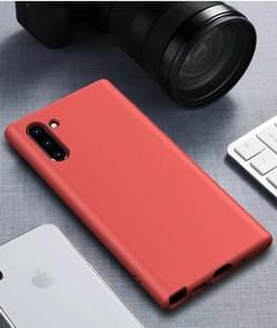 Starry Series schokbestendig stro materiaal + TPU beschermende case voor Galaxy Note 10 (rood)