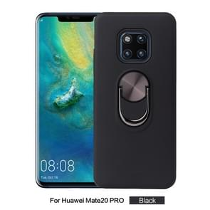 360 Rotary Multifunctional Stent PC+TPU Case for Huawei Mate 20 Pro,with Magnetic Invisible Holder(Black)