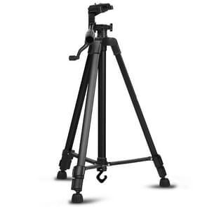Draagbare telefoon Live Selfie 3366 statief stand DV SLR camera zelfontspanner volledige licht beugel (zwart)