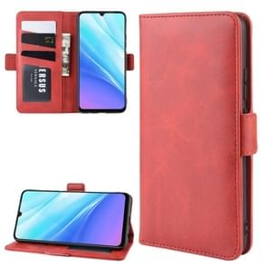 Wallet Stand Leather Cell Phone Case for VIVO Y7s / IQOO Neo,with Wallet & Holder & Card Slots(Red)