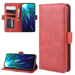 Wallet Stand Leather Cell Phone Case for VIVO Z5X / Z1 Pro,with Wallet & Holder & Card Slots(Red)