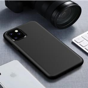Starry Series Shockproof Straw Material + TPU Protective Case for iPhone XI 2019(Black)