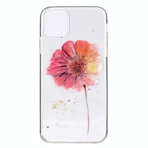 Stylish and Beautiful Pattern TPU Drop Protection Case for iPhone 11(Flower)