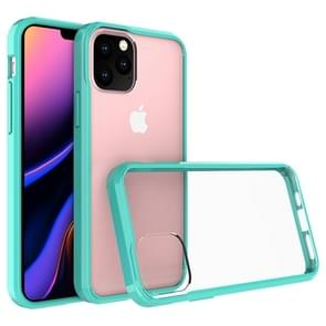 Scratchproof TPU + Acrylic Protective Case for iPhone 11 Pro(Green)