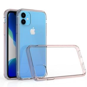 Scratchproof TPU + Acrylic Protective Case for iPhone 11(Pink)