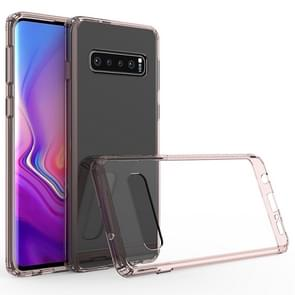 Scratchproof TPU + Acrylic Protective Case for Galaxy S10+(Pink)