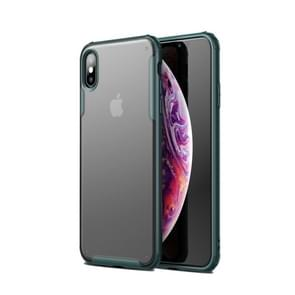 Scratchproof TPU + Acrylic Protective Case for iPhone XS Max(Dark Green)