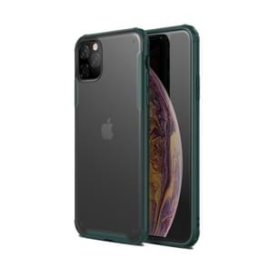 Scratchproof  TPU + Acrylic Protective Case for iPhone XI Max 2019(Dark Green)