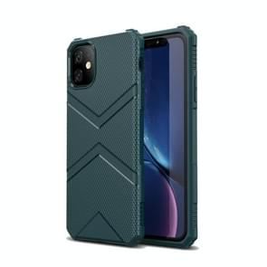 Diamond Shield TPU drop Protection Case voor iPhone XIR 2019 (marineblauw)
