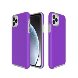 Anti-slip Armor textuur TPU + PC Case voor iPhone XI Max 2019 (paars)
